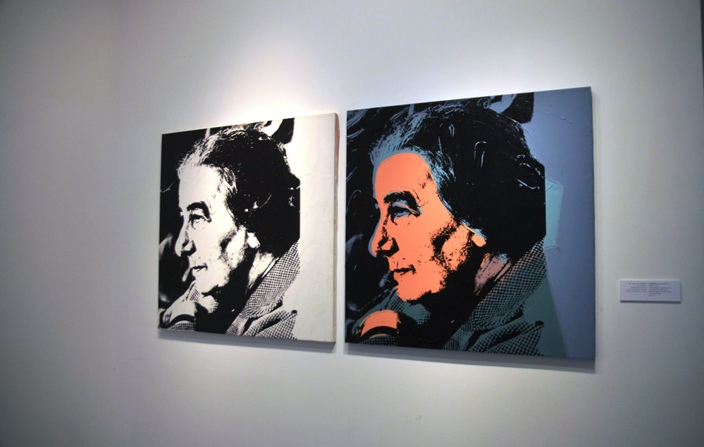 Warhol at Israel Museum of Golda Meir