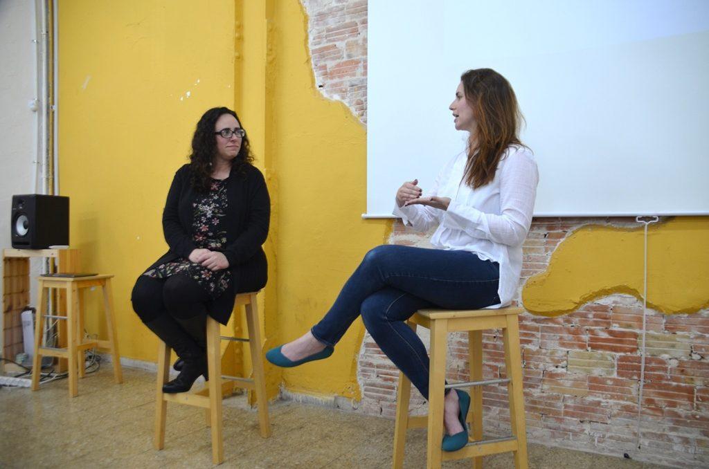 CEO Miriam Schwab and MassChallenge Yonit Serkin
