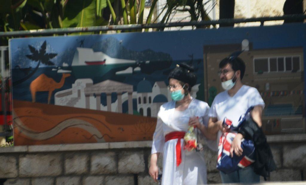 Purim costumes in Jerusalem