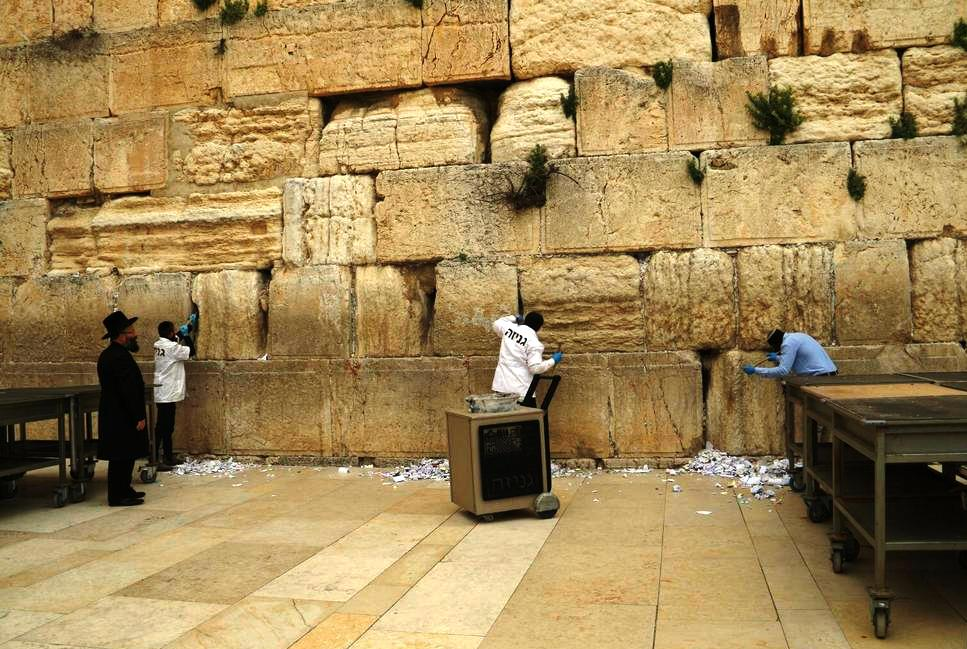 Western Wall Cleaning