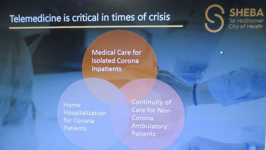 Dr. Galia Barkai, Head of Telemedicine, Sheba Medical Center slide