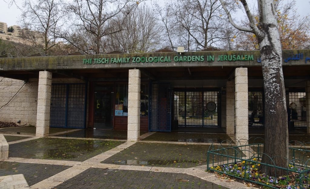 Entrance to Jerusalem Biblical Zoo