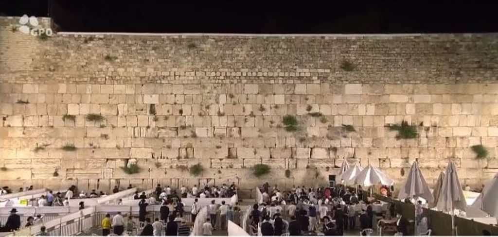 Kotel for Yom Yerushalayim restricted for COVID19