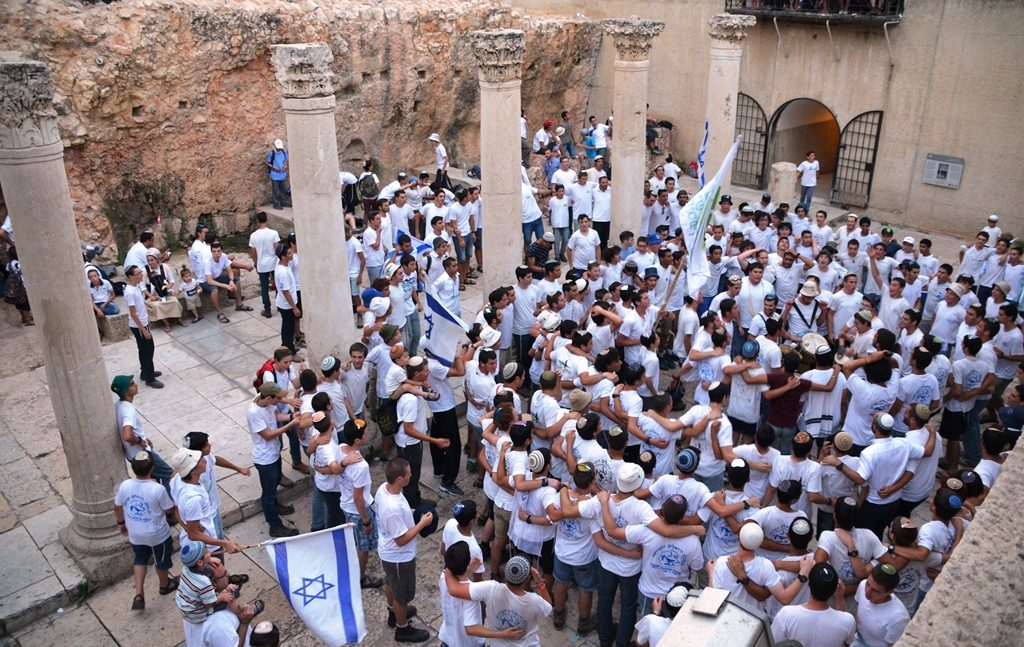 Jerusalem Day celebration in Jerusalem
