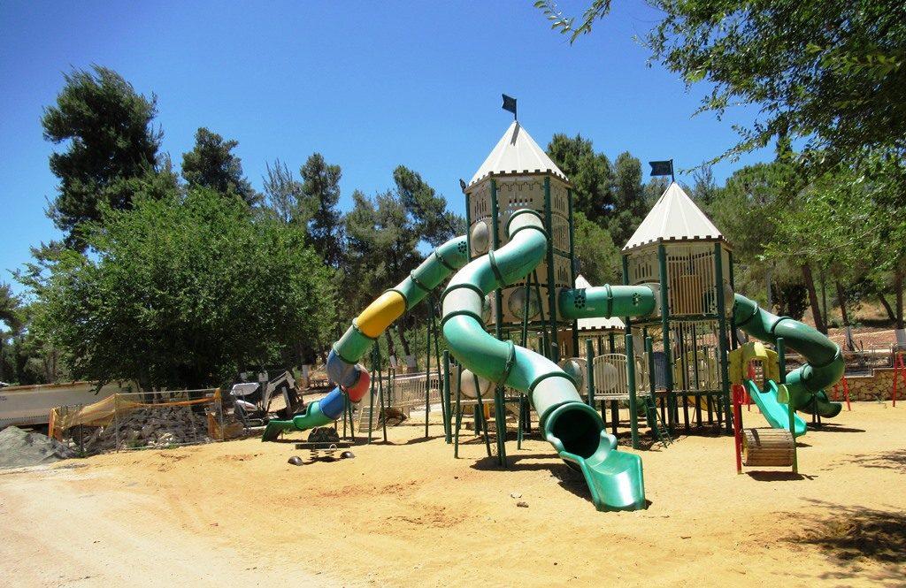 Jerusalem Israel playground in Jerusalem Park