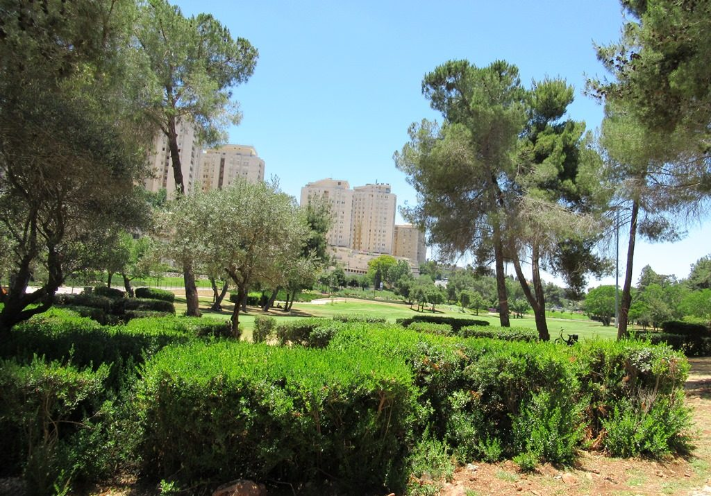 Jerusalem Israel Sacher Park