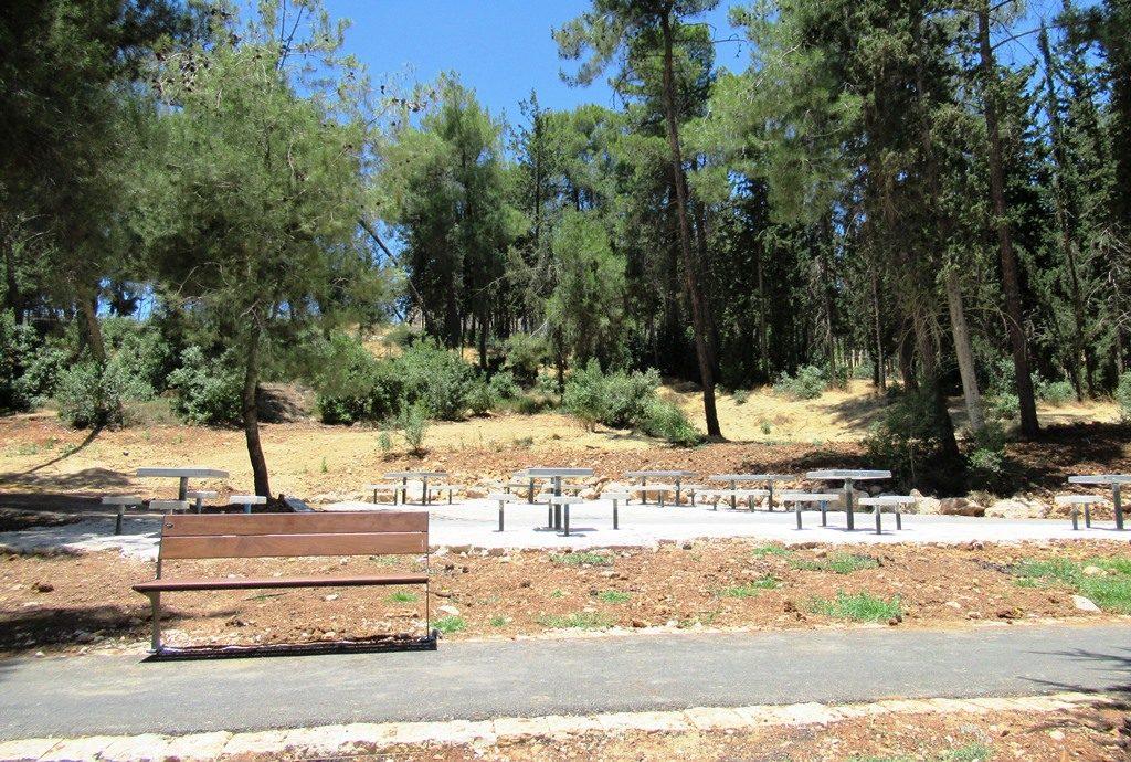 Jerusalem Israel Sacher Park renovation