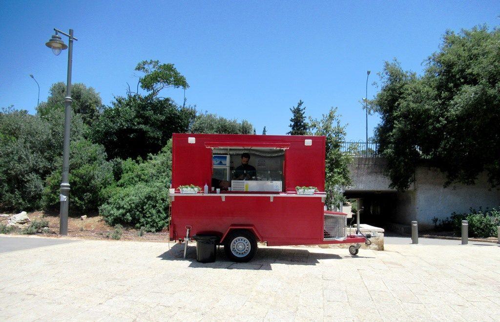 Jerusalem food truck