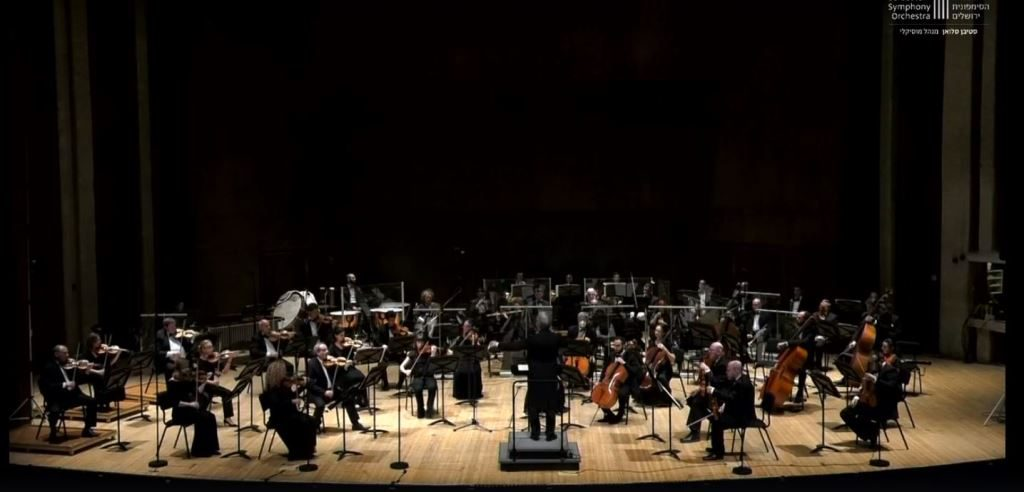 Jerusalem Symphony performances broadcast on Facebook during corona closings