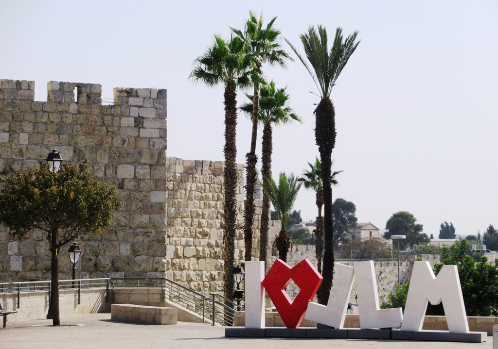 This image has an empty alt attribute; its file name is I-love-Jerusalem-sign-near-Old-City-Walls-Jerusalem.jpg