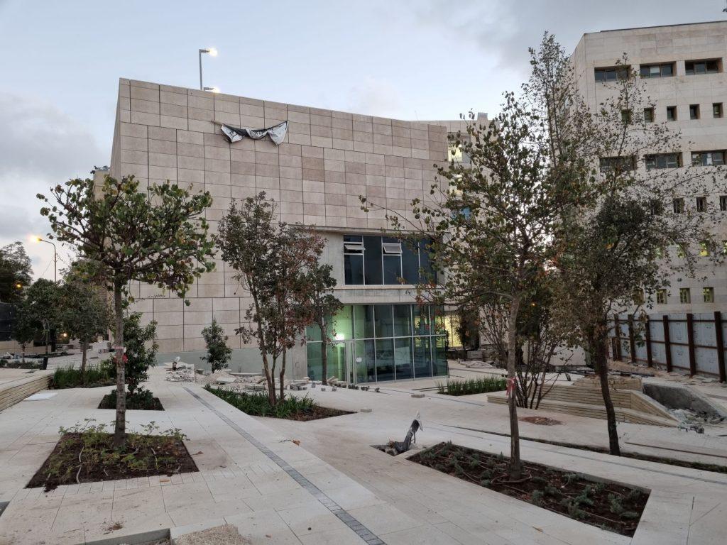 New Building on Bezalel Street