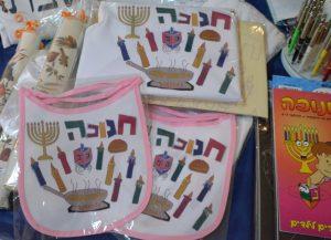 Chanukah bibs