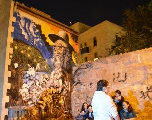 Nahlaot grafitti selihot tour