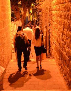 group walking tour of Nahlaot