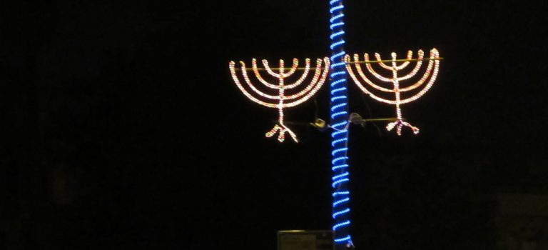 Winter and Holiday Lights in Jerusalem