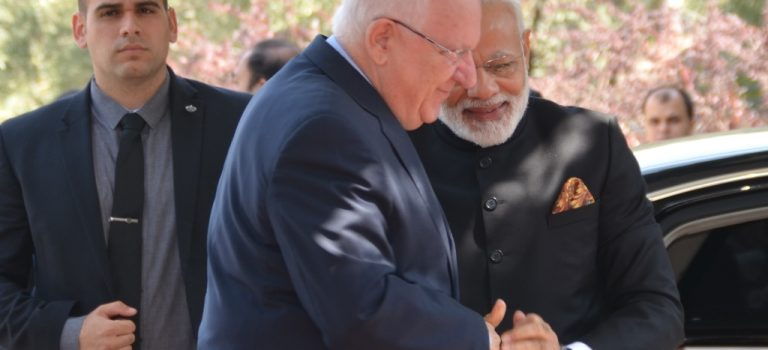 Prime Minister Modi in Israel: Warm Hugs and Agreements