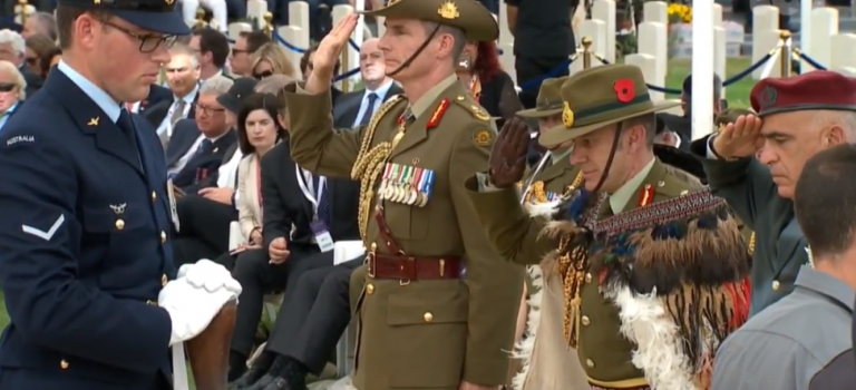 Remembering Fallen ANZAC Soldiers