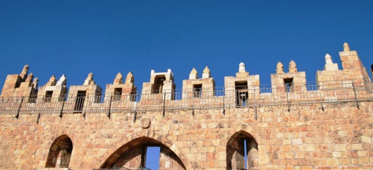 Jerusalem Under Old Walls to New Northern Ramparts